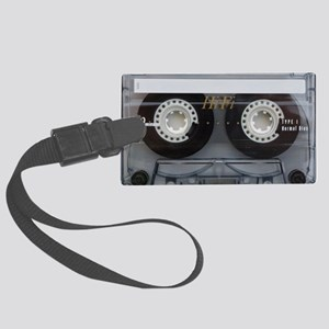 Cassette Tape Laptop Sleeve Large Luggage Tag