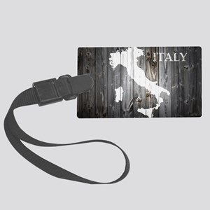 Italy Map Large Luggage Tag
