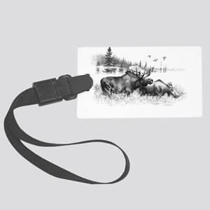 Moose Large Luggage Tag