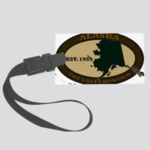 Alaska Est 1959 Large Luggage Tag