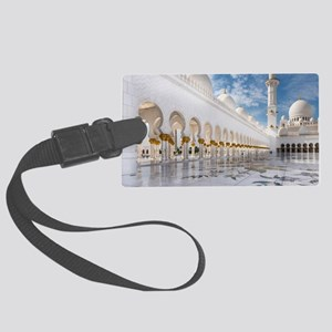 Sheikh Zayed Mosque Large Luggage Tag