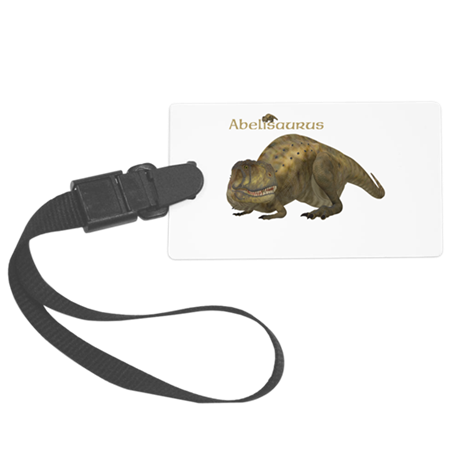 Abelisaurus Large Luggage Tag