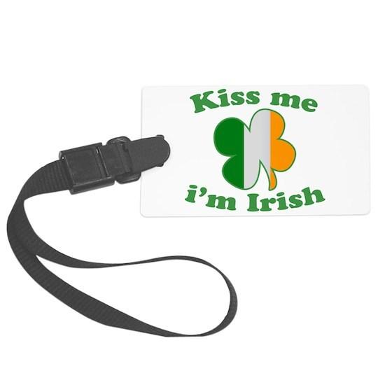 Kiss Me Im Irish Flag St Patricks Day