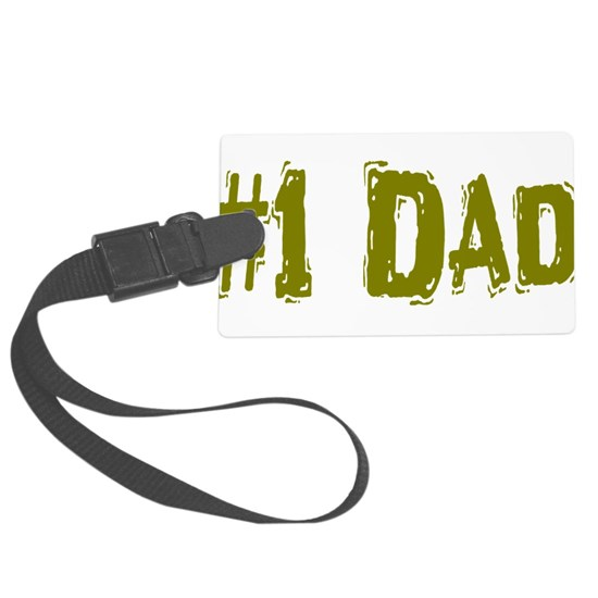 #1 Dad in olive