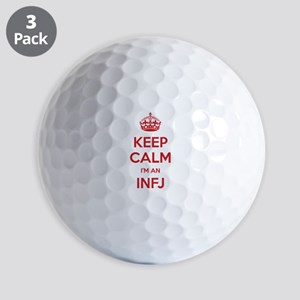 Keep Calm I'm An INFJ Golf Balls
