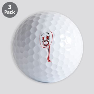 Loose Demon Golf Balls