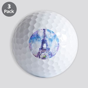 Rainbow Universe Paris Golf Balls