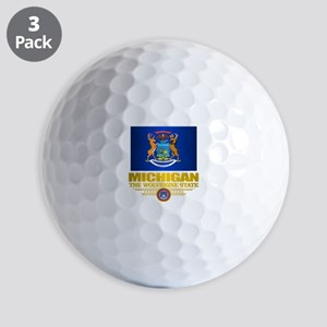 Michigan Pride Golf Ball