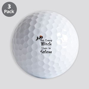 HALLOWEEN - NOT EVERY WITCH LIVES IN SA Golf Balls