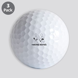 TAKING NOTES - MUSIC Golf Balls
