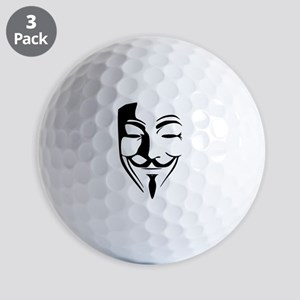 Guy Fawkes Golf Ball