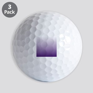 modern purple ombre Golf Balls