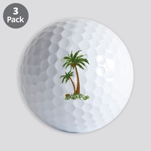 Twin Palm Tree Golf Balls