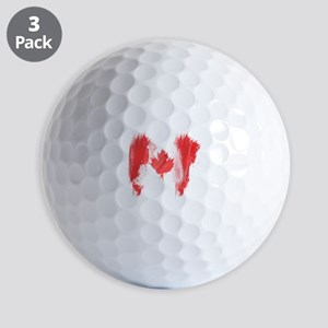 Canada Flag Canadian Golf Balls