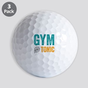 Gym and Tonic Golf Balls