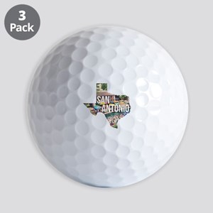 San Antonio Riverwalk, Texas Golf Balls
