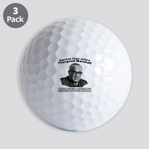 Thurgood Marshall: Equality Golf Balls