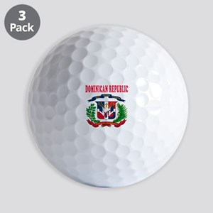 Dominican Republic Coat Of Arms Designs Golf Balls
