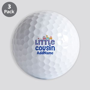 Personalized Little Cousin Golf Balls