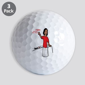 Happy Valentines Day Golf Ball