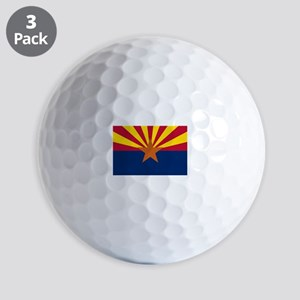 State Flag of Arizona Golf Balls