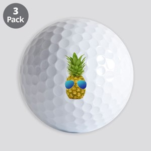 Cool Pineapple Golf Balls