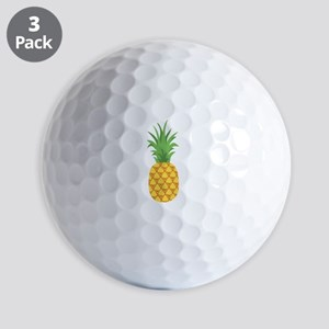 Pineapple Fruit Golf Ball