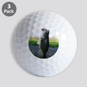 Bass Fish Golf Balls
