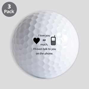 Introvert Love Golf Balls