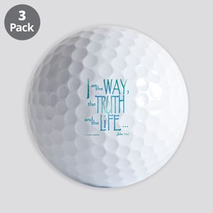 I am the Way Golf Balls
