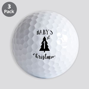Baby's First Christmas Golf Balls