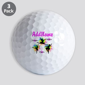 DANCER DREAMS Golf Balls