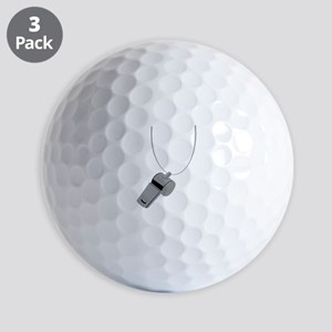 Referee Whistle Coach Golf Balls