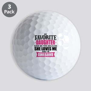 Favorite Daughter Golf Balls