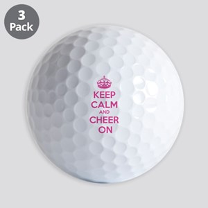 Keep calm and cheer on Golf Balls