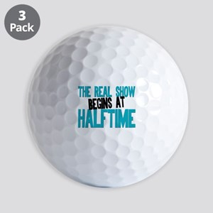 Marching Band Halftime Golf Balls