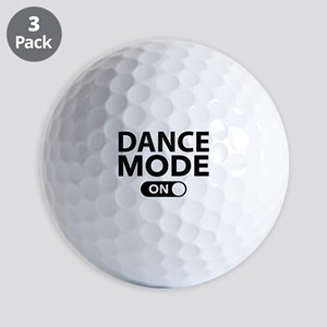 Dance Mode On Golf Balls