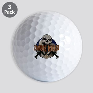 Tactical zombie killer Golf Balls