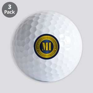 Michigan Gold Label Golf Ball