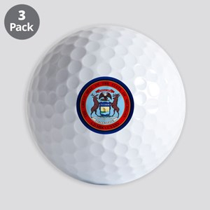 Michigan Seal Golf Ball