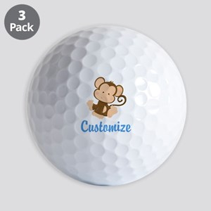 Custom Monkey Golf Balls
