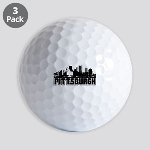 Pittsburgh Skyline Golf Balls