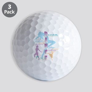Dream Dance Love Golf Ball