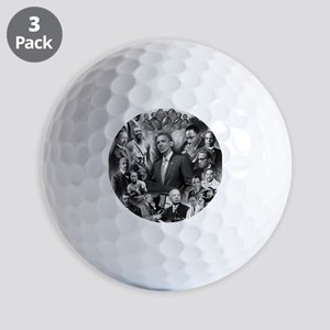Great Black Leaders Golf Balls