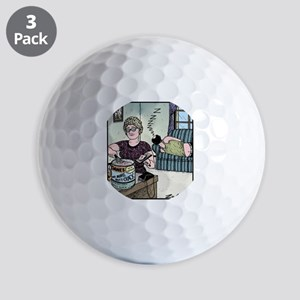 No more Butt-crack Golf Balls