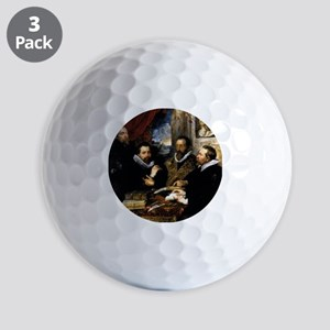 The Four Philosophers Golf Balls