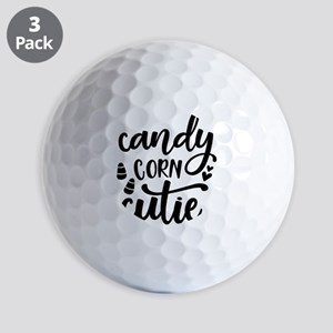 Candy corn cutie Halloween Autumn Fall Golf Balls