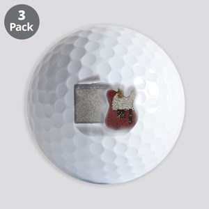 guitar and amp mosaic Golf Balls