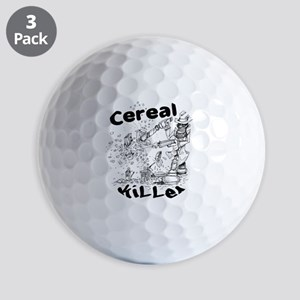 Cereal Killer Golf Balls