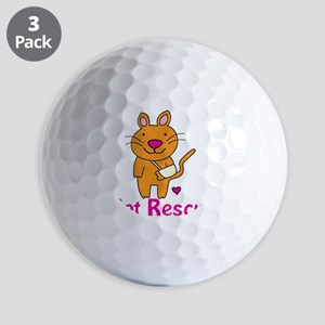 Cat Rescue Golf Balls